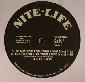 RB HUDMON - Searching For Your Love