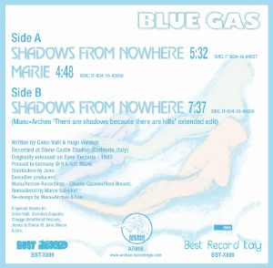 BLUE GAS - Shadows From Nowhere (repress)