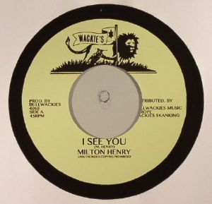 HENRY, Milton/BULLWACKIES ALLSTARS - I See You