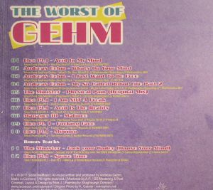 GEHM, Andreas - The Worst Of Gehm