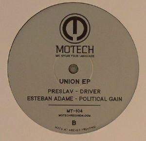 DJ 3000/MAZEPA/PRESLAV/ESTEBAN ADAME - Union EP