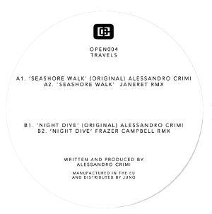 CRIMI, Alessandro - Travels (feat Janeret, Frazer Campbell mixes)
