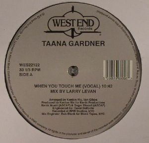 GARDNER, Taana - When You Touch Me (remastered)