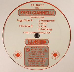 GIANNELLI, Fred - The Fred Giannelli Organization (warehouse find)