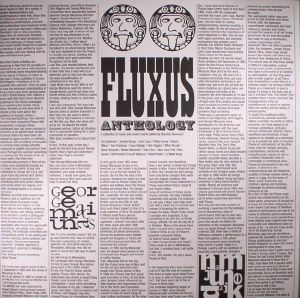 NANNUCCI, Maurizio/VARIOUS - Fluxus Anthology: A Collection Of Music & Sound Events