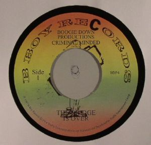 BOOGIE DOWN PRODUCTIONS - The Bridge Is Over/Remix For P Is Free