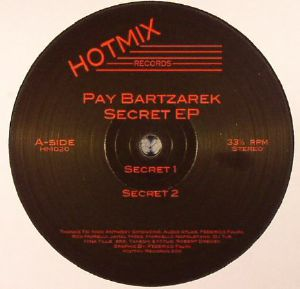PAY BARTZAREK - Secret EP
