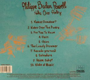 BADEN POWELL, Philippe - Notes Over Poetry