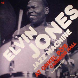 JONES, Elvin/JAZZ MACHINE - At Onkel Po's Carnegie Hall Hamburg 1981