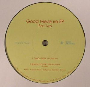 PETER, Simon/SIMON COTTER/MURENA/B&B - Good Measure EP Part Two