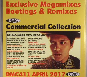 VARIOUS - DMC Commercial Collection April 2017: Exclusive Megamixes Bootlegs & Remixes (Strictly DJ Only)