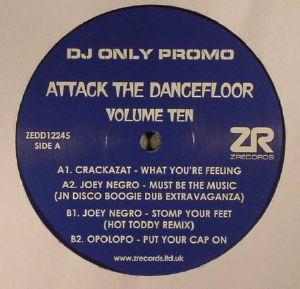 CRACKAZAT/JOEY NEGRO/OPOLOPO - Attack The Dancefloor Vol 10