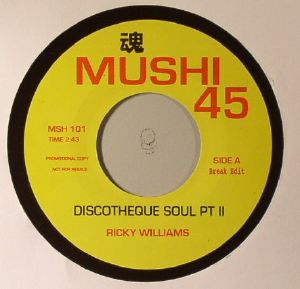 WILLIAMS, Ricky/LES BAXTER - Discotheque Soul Part II (Break Edit)