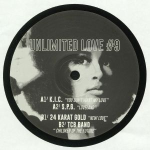 KIC/SPG/24 KARAT GOLD/TCB BAND - Unlimited Love #9