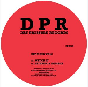 NOODLES GROOVECHRONICLES/DUBCHILD - Rip N Run Vol 2