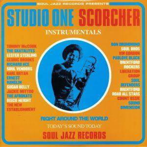 VARIOUS - Studio One Scorcher Instrumentals (remastered) (reissue)