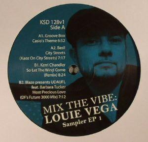 GROOVE BOX/BASIL/KERRI CHANDLER/BLAZE/UDAUFL - Mix The Vibe: Louie Vega: Sampler EP 1