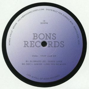 NOT ME/JAVI FRIAS/DJ BRUCE LEE/DOC L JUNIOR - Your Love EP