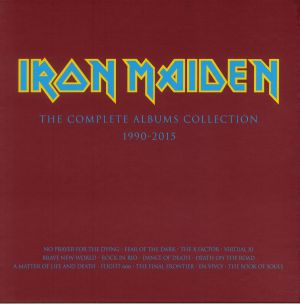 IRON MAIDEN - Collectors Box: The Complete Albums Collection 1990-2015