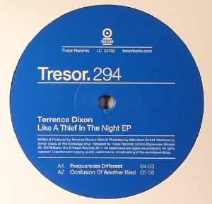DIXON, Terrence - Like A Thief In The Night EP