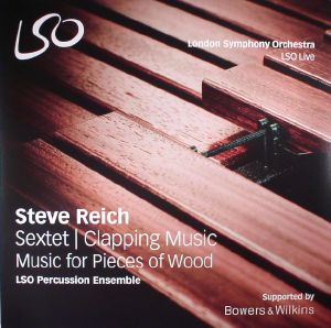 REICH, Steve/LSO PERCUSSION ENSEMBLE - Sextet/Clapping Music/Music For Pieces Of Wood (Record Store Day 2017)