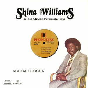 WILLIAMS, Shina & HIS AFRICAN PERCUSSIONISTS - Agb'oju L'ogun