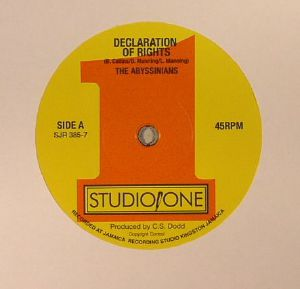 ABYSSINIANS, The/SOUND DIMENSION - Declaration Of Rights