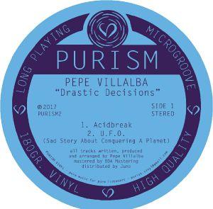VILLALBA, Pepe - Drastic Decisions