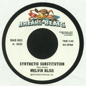 BLISS, Melvin/SWEET DADDY FLOYD - Synthetic Substitution