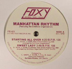 MANHATTAN RHYTHM feat THE SMITHCOX ORGANISATION - Manhattan Rhythm (reissue)