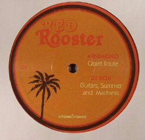 MINIMONO/DJ ROU/MEMORYMAN aka UOVO/D'ARABIA - Red Rooster EP 003