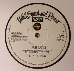 CREATION STEPPER/ROBERT TRIBULATION - Jah Love
