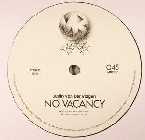 VAN DER VOLGEN, Justin - No Vacancy