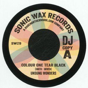 UNSUNG WONDERS/RICE & PEAS - Colour One Tear Black