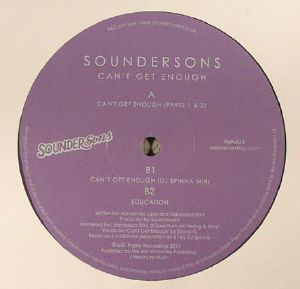 SOUNDERSONS - Can't Get Enough