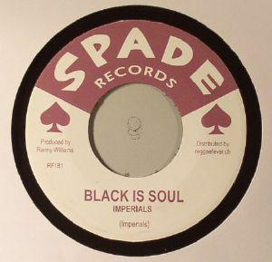 IMPERIALS/AL SENIOR PONE/RANNY WILLIAMS/HIPPY BOYS - Black Is Soul