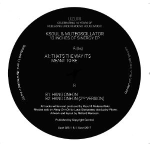 KSOUL/MUTEOSCILLATOR - 12 Inches Of Sinergy EP