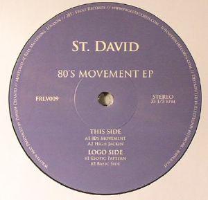 ST DAVID - 80s Movement EP