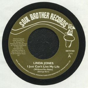 JONES, Linda - I Just Can't Live My Life (Without You Babe) (reissue)