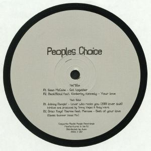 MCCABE, Sean/SOUL2BLACK/JOHNNY RAMPIN/BRIAN 'KEYS' THARME - Peoples Choice