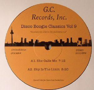DISCO BOOGIE CLASSICS - Disco Boogie Classics Volume 9