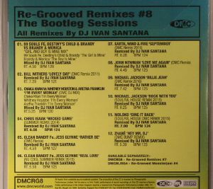 VARIOUS - The Bootleg Sessions: Re Grooved Remixes Vol Eight (Strictly DJ Only)