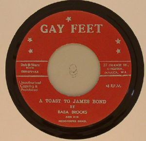 BROOKS, Baba & HIS RECORDING BAND/STRANGER COLE/PATSY MILLICENT TODD - A Toast To James Bond