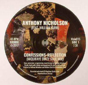 NICHOLSON, Anthony feat WILLIAM KURK - Confessions Reflection