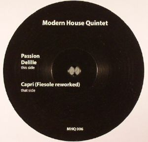 MODERN HOUSE QUINTET - Passion