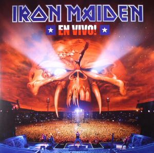 IRON MAIDEN - En Vivo! (reissue)