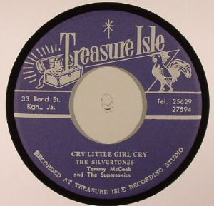 SILVERTONES, The/TOMMY McCOOK/THE SUPERSONICS - Cry Little Girl Cry