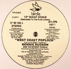 HUDSON, Ronnie & THE STREET PEOPLE - West Coast Poplock