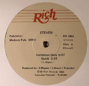STEVEN - Invitation Only (reissue)