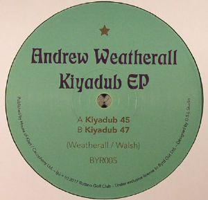 WEATHERALL, Andrew - Kiyadub EP